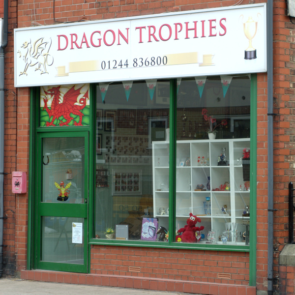 Dragon Trophies, For Sports and Event Trophies and medals, Connah's Quay