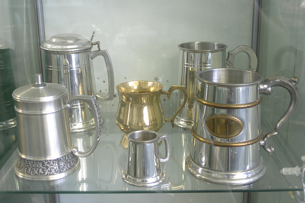 Engraved tankards make a special unique gift