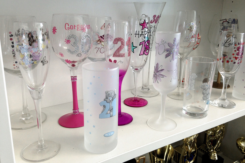 Gift Shop in Connah's Quay, personalised, engraved unique gifts. Dragon Trophies